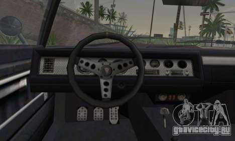 GTA 5 Phoenix для GTA San Andreas вид сзади слева