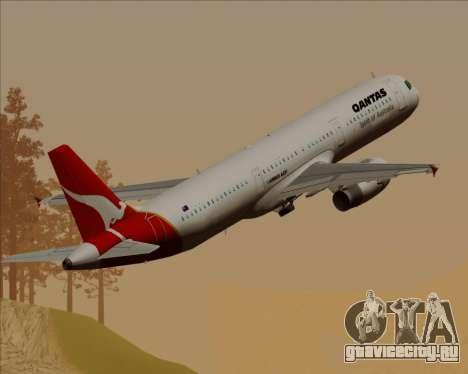 Airbus A321-200 Qantas для GTA San Andreas