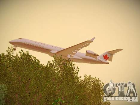 Bombardier CRJ-700 Air Canada Express для GTA San Andreas вид справа