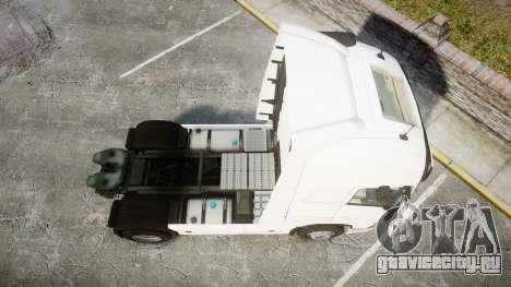 Volvo FH16 для GTA 4 вид справа