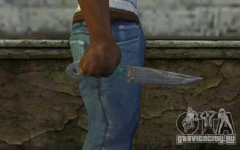 Knife from Metro 2033 для GTA San Andreas третий скриншот