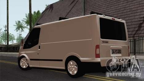 Ford Transit ACERMANS RC для GTA San Andreas вид слева