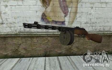 PPSH-41 v1 для GTA San Andreas