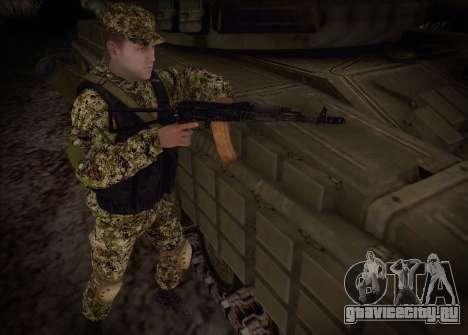 Стрелок ополчения ДНР для GTA San Andreas третий скриншот