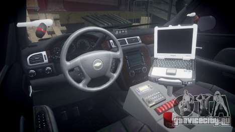 Chevrolet Suburban [ELS] Rims2 для GTA 4 вид сзади