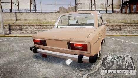 ВАЗ-2106 хулиганский азербайджанский стиль для GTA 4 вид сзади слева