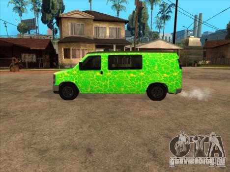 Bravado Paradise для GTA San Andreas вид слева