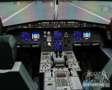 Airbus A330-300X Swiss International Air Lines для GTA San Andreas салон
