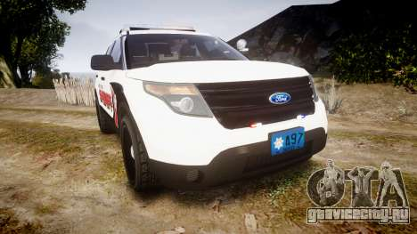 Ford Explorer 2013 LC Sheriff [ELS] для GTA 4