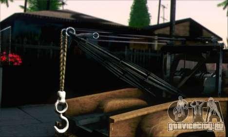 GTA 5 Towtruck Worn для GTA San Andreas вид сзади слева