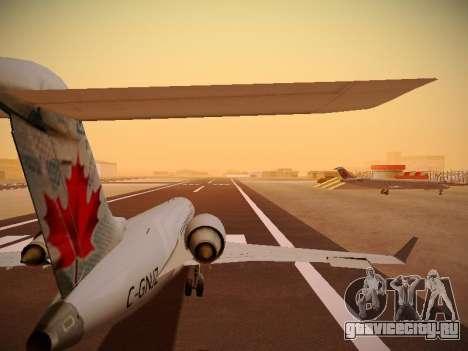 Bombardier CRJ-700 Air Canada Express для GTA San Andreas вид снизу