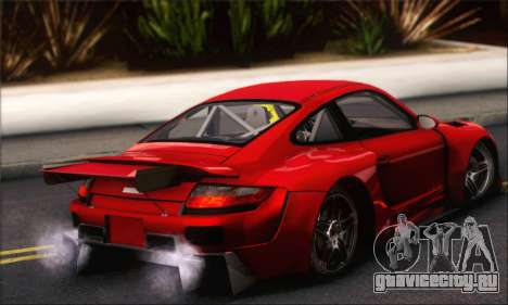 Porsche 997 Turbo Tunable для GTA San Andreas вид сбоку