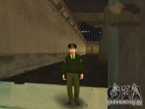 Прапорщик Соколов для GTA San Andreas четвёртый скриншот
