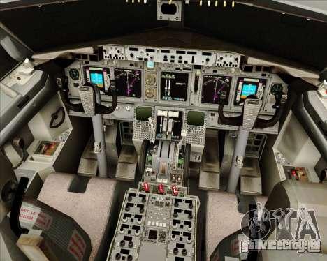 Boeing 737-800 Gol Transportes Aéreos для GTA San Andreas салон