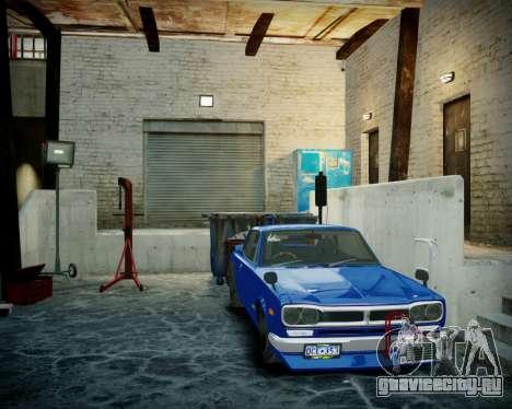 Гараж с новым интерьером в Алкогвине для GTA 4 шестой скриншот
