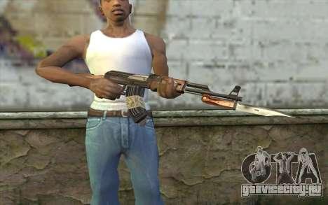 AK47 from Firearms v1 для GTA San Andreas третий скриншот