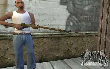 Винтовка Мосина v16 для GTA San Andreas третий скриншот