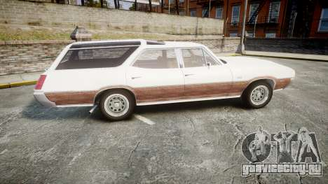 Oldsmobile Vista Cruiser 1972 Rims1 Tree3 для GTA 4 вид слева