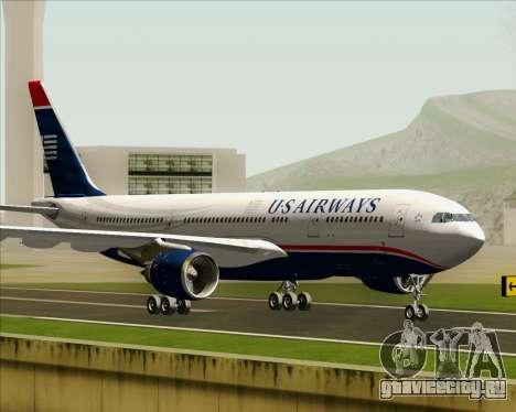 Airbus A330-200 US Airways для GTA San Andreas вид слева