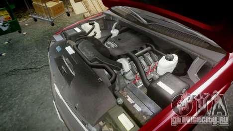 Chevrolet Suburban Undercover 2003 Black Rims для GTA 4 вид изнутри