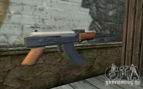 AK47 from Beta Version для GTA San Andreas второй скриншот