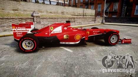 Ferrari F138 v2.0 [RIV] Alonso TSSD для GTA 4 вид слева