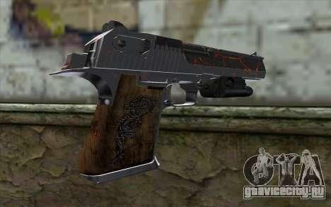 Silver Desert Eagle для GTA San Andreas второй скриншот