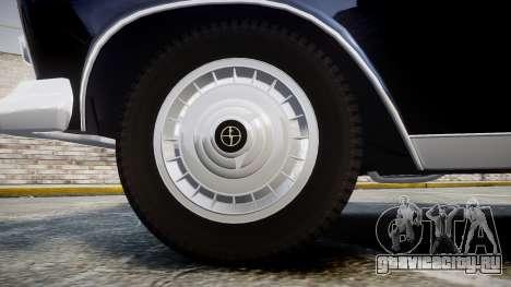 FSO Warszawa Ghia 1959 для GTA 4 вид сзади