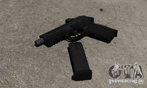 Пистолет FNP-45 для GTA 4 второй скриншот