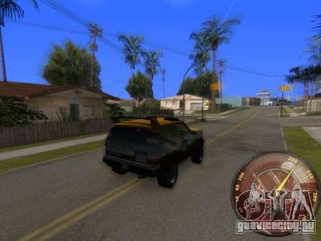 Спидометр HITMAN для GTA San Andreas второй скриншот