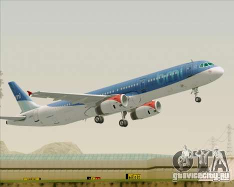 Airbus A321-200 British Midland International для GTA San Andreas