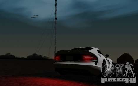 ENBSeries For Low PC v3.0 (SA:MP) для GTA San Andreas шестой скриншот