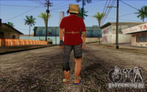 Vagabonds Skin 2 для GTA San Andreas второй скриншот