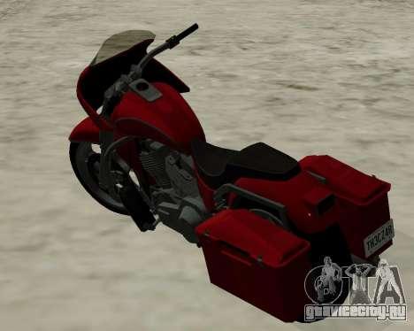 Bagger для GTA San Andreas вид слева