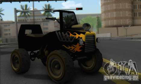 Sweeper from GTA 5 для GTA San Andreas