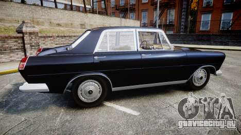 FSO Warszawa Ghia 1959 для GTA 4 вид слева