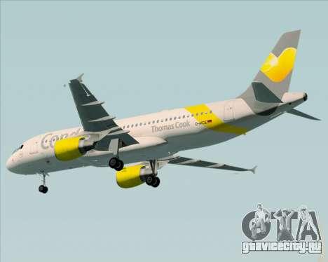 Airbus A320-212 Condor для GTA San Andreas вид сзади