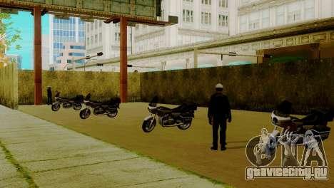 Новый транспорт в LSPD и его оживление для GTA San Andreas восьмой скриншот