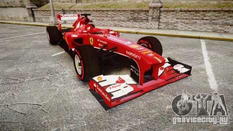 Ferrari F138 v2.0 [RIV] Alonso TSSD для GTA 4