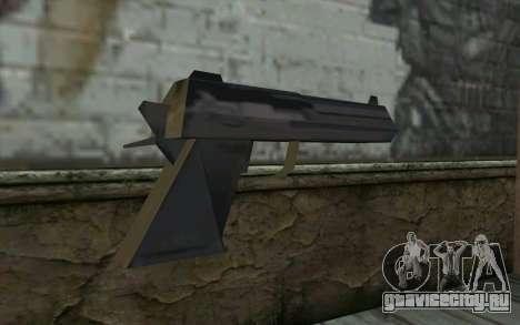 Desert Eagle from Cutscene для GTA San Andreas второй скриншот