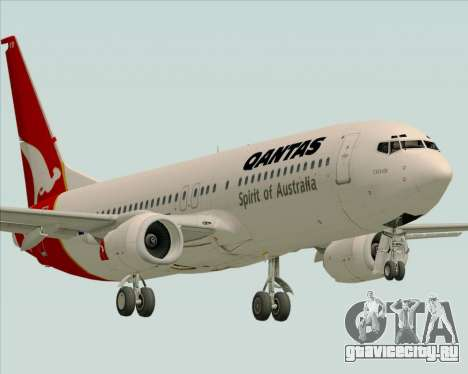 Boeing 737-838 Qantas (Old Colors) для GTA San Andreas