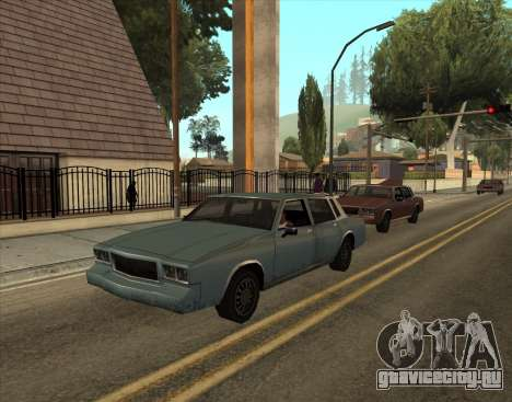 Tahoma Restyle для GTA San Andreas