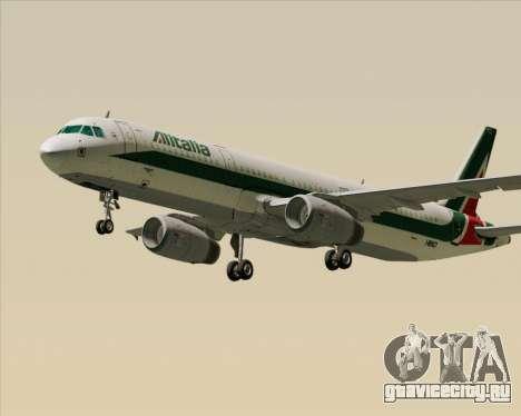 Airbus A321-200 Alitalia для GTA San Andreas