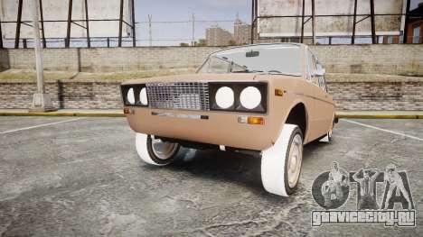 ВАЗ-2106 хулиганский азербайджанский стиль для GTA 4