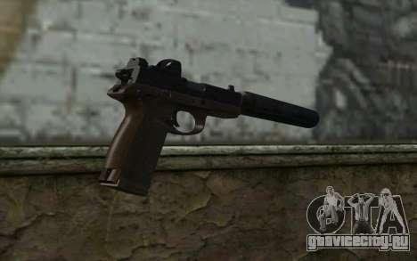 FN FNP-45 С Глушителем и Прицелом для GTA San Andreas второй скриншот