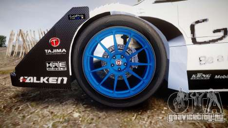 Suzuki Monster Sport SX4 2011 для GTA 4 вид сзади