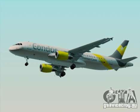 Airbus A320-212 Condor для GTA San Andreas вид слева