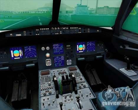 Airbus A321-200 EgyptAir для GTA San Andreas салон