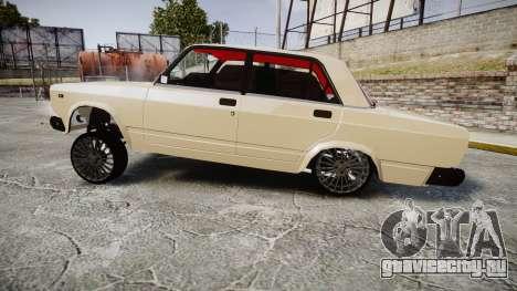 ВАЗ-2107 азербайджанский стиль для GTA 4 вид слева