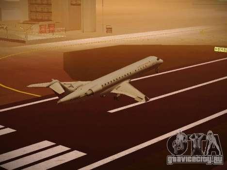 Bombardier CRJ-700 Air Canada Express для GTA San Andreas вид сбоку